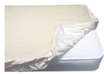 Organic Cotton Waterproof Fitted Crib Protector Pad