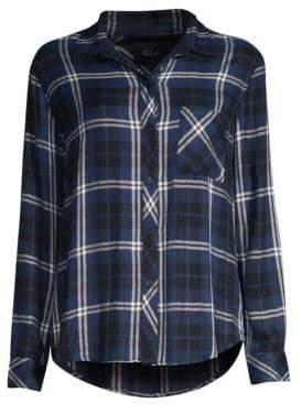 Rails Hunter Button-Down Plaid Shirt