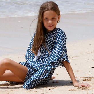 Maeve Lilly's Secret NEW Kaftan Navy Girl's by Lilly's Secret