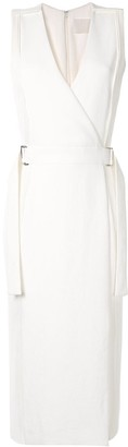 Dion Lee corrugated pleated side panel dress