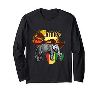 African Flag Africa Roots History Long Sleeve Shirt