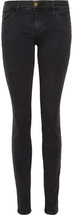 Current/Elliott The Ankle low-rise skinny jeans