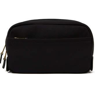 Volition Vincent - Nylon Canvas Wash Bag Black