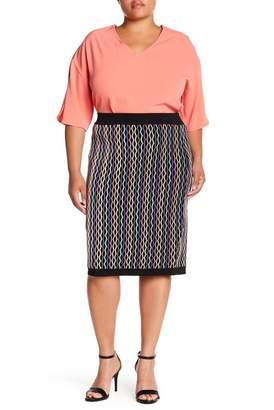 Wilson Rebel X Angels Knit Pencel Skirt (Plus Size)