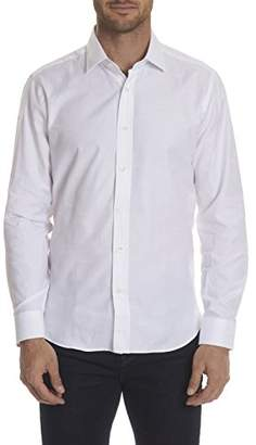 Robert Graham Men's Rag Top Long Sleeve Trim Fit Shirt