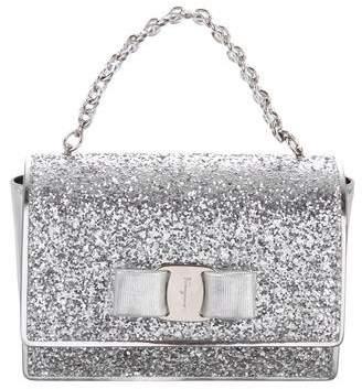 Salvatore Ferragamo Glitter Ginny Bag