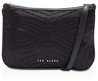 Ted Baker Janaa Quilted Bow Double Pouch Crossbody