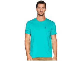 U.S. Polo Assn. Crew Neck Small Pony T-Shirt Men's Short Sleeve Pullover