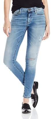 Buffalo David Bitton Women's Faith Midrise Skinny Wash Distressed Jeans $66.64 thestylecure.com