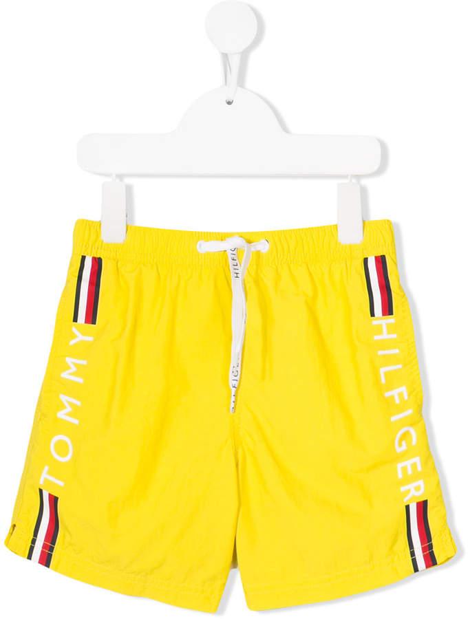 Tommy Hilfiger Junior brand stripe swimming shorts