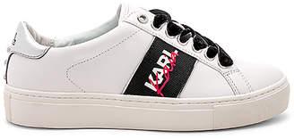 Karl Lagerfeld X KAIA Kaia Lace Up Sneaker