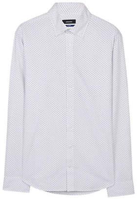 Seidensticker Micro Circles Cotton Sport Shirt