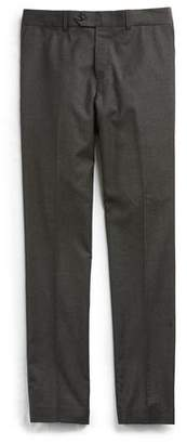 Todd Snyder Stretch Wool Tab Front Trouser in Charcoal