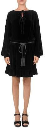 The Kooples Velvet Flare Dress