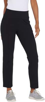 Denim & Co. Active Duo Stretch Straight Leg Ankle Pants