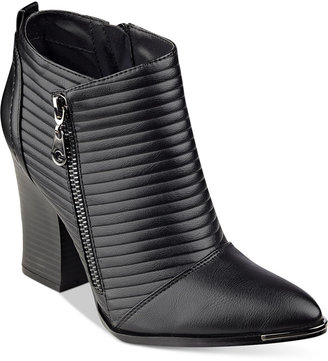 G by GUESS Mayko Moto Booties $79 thestylecure.com