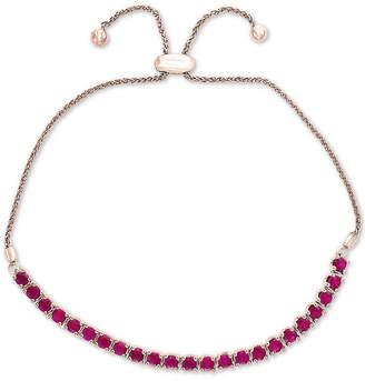 Effy Certified Ruby Slider Bracelet (2 ct. t.w.) in Sterling Silver