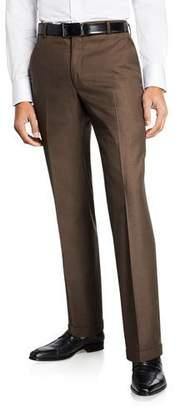 Hickey Freeman Men's Traveler 360 Dress Trousers