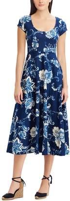 Chaps Petite Short Sleeve Dress