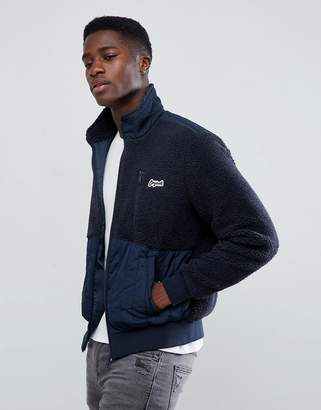 Jack and Jones Originals borg fleece jacket