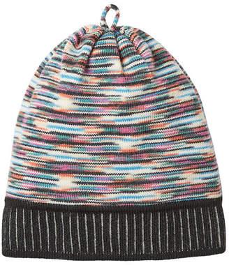 Womens Mixed-Stitch Wool-Blend Hat Missoni vV741OFYye