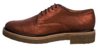 Dries Van Noten Suede Derby Shoes w/ Tags