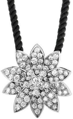 Van Cleef & Arpels Heritage Certified 18K Diamond Necklace