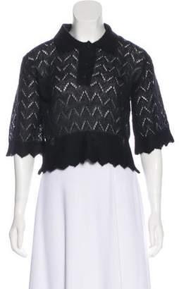 Kenzo Mohair Collar Sweater