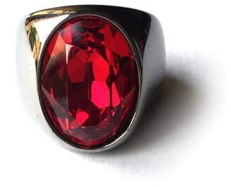Red Crystal Swarovski Ring $225 thestylecure.com