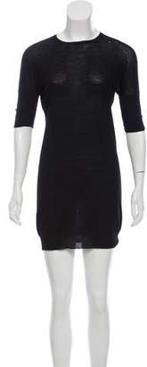 Prada Longline Short Sleeve Top