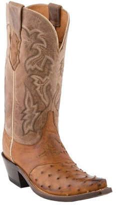 Women's Lucchese Bootmaker M5603. S54 Spring Snip Toe Cowboy Heel Boot