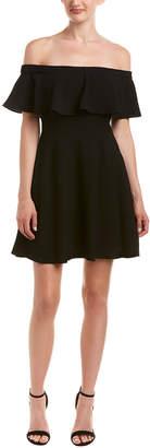 Black Halo A-Line Dress