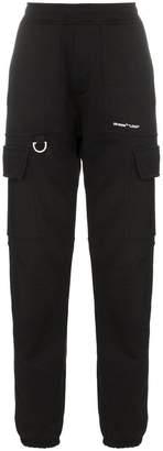 Off-White Logo cargo trousers