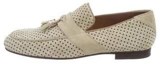Jimmy Choo Polka Dot Tassel Loafers