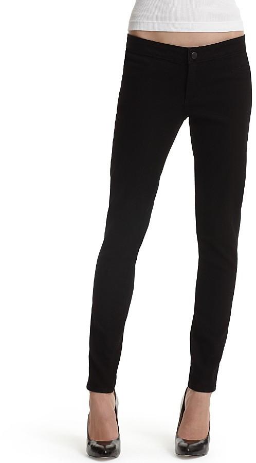 Paige Premium Denim Legging Jean in Black Wash