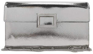 Roger Vivier Viv Mirrored Envelope Clutch Bag