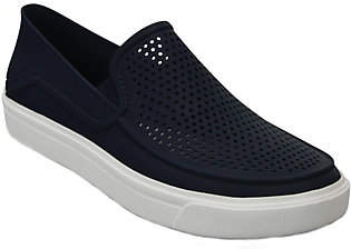 Crocs Slip-on Sneakers - Citi Lane Roka $49 thestylecure.com