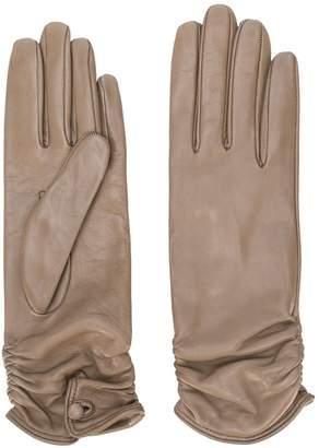 Gala Gloves ruched-cuff gloves