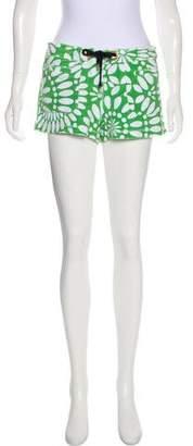 Tory Burch Knit Mini Shorts