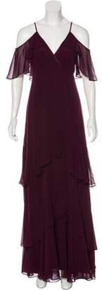 Erin Fetherston Sleeveless Maxi Dress Purple Sleeveless Maxi Dress