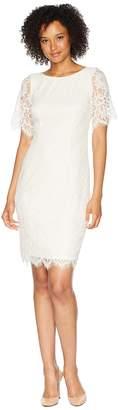 Adrianna Papell Bell Sleeve Georgia Lace Sheath Dress Women's Dress