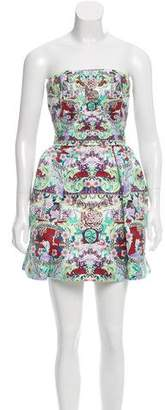 Mary Katrantzou Strapless Rayner Dress w/ Tags