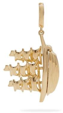 Annoushka - X The Vampires Wife The Ship Song Charm - Womens - Yellow Gold
