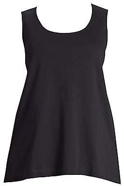 Joan Vass Women's Plus Jersey Tank Top