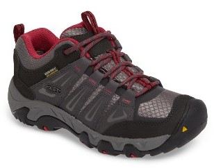 Women's Keen Oakridge Waterproof Hiking Shoe $114.95 thestylecure.com