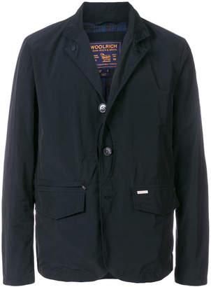Woolrich casual single-breasted blazer