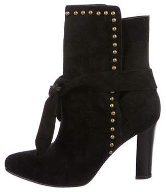 Ulla Johnson Suede Mid-Calf Boots