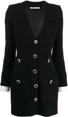 Alessandra Rich short tweed style dress