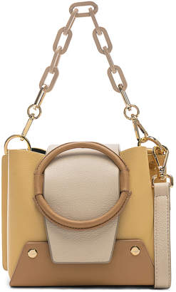 Yuzefi Mini Delila Bag in Apricot & Cream | FWRD