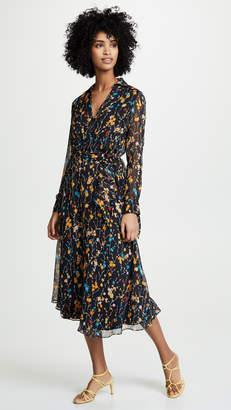 Equipment Fleurs Cascade Vivienne Dress